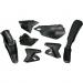 Acerbis Plastic Body Kit - Black - DRZ400