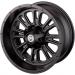 Moose Racing Wheel - 399MO - 12X8 - 4/136