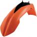 Acerbis Plastic Front Fender - Orange/Black - SX