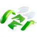 Acerbis Plastic Body Kit - OE '05 Green/White - KX250F