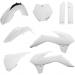 Acerbis Full Replacement Plastic Kit - White  - SX85