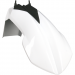 Acerbis Plastic Front Fender - White/Black - SX65