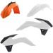 Acerbis Plastic Body Kit - Black/Orange/White - SX85 - '17