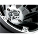 Moose Racing Wheel - 387M - 12X8 - 4/136 - 4+4