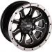 Moose Racing Wheel - 548M - 12X8 - 4/156 - 4+4