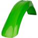 Acerbis Plastic Front Fender - Green - KX - '93-'00