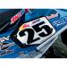 Rox Speed FX Universal Snowcross Number Plate - Rear