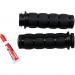 Kuryakyn Black ISO®-Grips for TBW