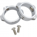 Kuryakyn Fork Mount Clamps - 49 mm - Chrome