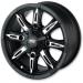 Moose Racing Wheel - 423M - 14X8 - 4/110 - 6.0
