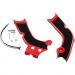 Acerbis X-Grip Frame Guards - CRF - Red/Black