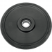 "Parts Unlimited WHEEL,STD.6.38"" BLACK"
