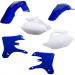 Acerbis Plastic Body Kit - '05 OE Blue/White - WR