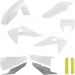 Acerbis Plastic Body Kit - OE White/Gray/Yellow '20