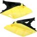 Acerbis Side Panels - RMZ 250 - Black/Yellow