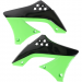 Acerbis Radiator Shrouds - KX 450 F - Black/Green