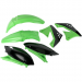 Acerbis Plastic Body Kit - OE '10-'11 Green/Black - KX250F
