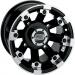 Moose Racing Wheel - 393B - 12X7 - 4/110 - 4+3