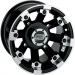Moose Racing Wheel - 393B - 12X8 - 4/110 - 4+4