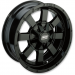 Moose Racing Wheel - 420B - 17X7 - 4/115
