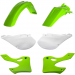 Acerbis Plastic Body Kit - OE '02 Green/White - KX