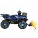 Moose Racing Wheel - 387BU - 14X7 - 4/110 - 4+3