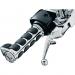 Kuryakyn Chrome ISO®-Grips w/ Throttle Boss for '08 - '19 FLT