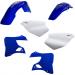 Acerbis Plastic Body Kit - '01 OE Blue/White