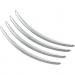 Kuryakyn Rear Fender Accents - Chrome