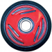 Parts Unlimited WHEEL,BOMB 135MM RED