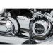 Kuryakyn Oil Line Cover - Precision - Chrome