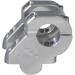"""Rox Speed FX Silver 1-1/2"""" Handlebar Riser for 1-1/8"""" Handlebars"""