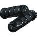 Kuryakyn Gloss Black Kinetic™ Grips for Scout