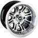Moose Racing Wheel - 547B - 14X8 - 4/110 - 4+4