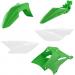 Acerbis Plastic Body Kit - OE Green/White - KLX 110