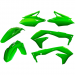 Acerbis Plastic Body Kit - Fluorescent Green - KX450F
