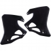 Acerbis Radiator Shrouds - CR 95-6 - Black