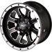 Moose Racing Wheel - 548M - 12X7 - 4/136 - 4+3