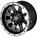 Moose Racing Wheel - 548M - 12X8 - 4/136 - 4+4