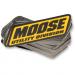 Moose Racing Small Mud Sticker - 100 Pack
