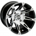 Moose Racing Wheel - 387M - 14X7 - 4/156 - 4+3
