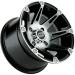 Moose Racing Wheel - 387M - 12X8 - 4/110 - 2+6