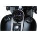 "Kuryakyn Alley Cat LED Fuel and Battery Gauges - Gloss Black -  3"" Diameter"