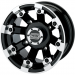 Moose Racing Wheel - 393B - 12X7 - 4/156 - 4+3