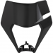 Acerbis Headlight Mask - Black - KTM