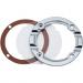 Kuryakyn Hypercharger Door Clear Chrome