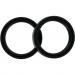 Parts Unlimited Fork Seals - 43x55x9.5/10.5