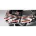 Parts Unlimited Saddlebag Lens Grille Set - Chrome - GL1500