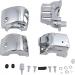Kuryakyn Chrome Switch Box Housing Cover for FL w/ Cruise