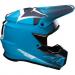 Moose Racing F.I. Agroid Helmet - MIPS - Navy/Light Blue - 3XL